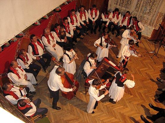 ... BORŠIČANÉ, lidová kultura Boršic 1908-2008 ... 19.9.2008 ... foto: Andrea Ondrová