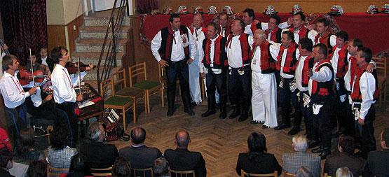 ... BORŠIČANÉ, lidová kultura Boršic 1908-2008 ... 19.9.2008 ... foto: Zdenka Ondrová